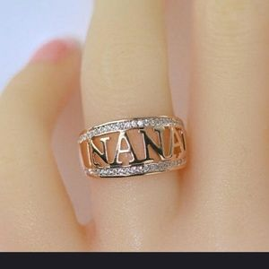Rose Gold CZ NANA Ring